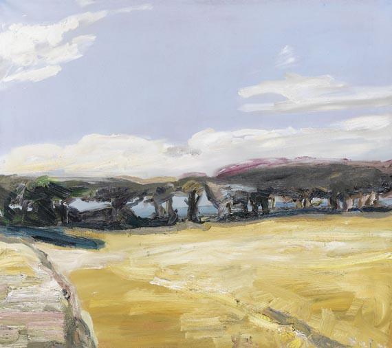 Klaus Fußmann - Blick über die Felder