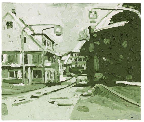 Martin Kippenberger - Kleiner Verkehr (Kreuzung Hauptstraße-Gerwigstraße, St. Georgen - Nach Witzleben links - Capri Nr. 8) - Weitere Abbildung