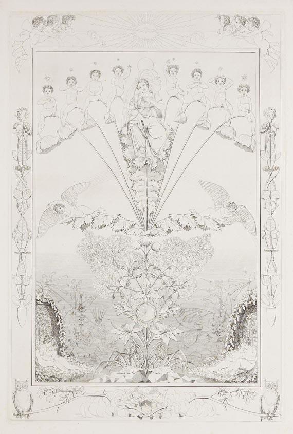 Philipp Otto Runge - 4 Blätter: Die Zeiten - Weitere Abbildung