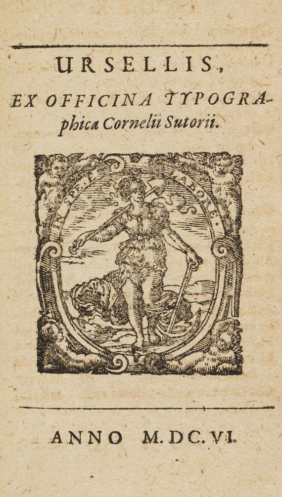Hilarius Drudo - Equitis Franci. 1606. - Weitere Abbildung