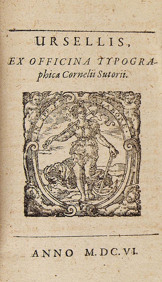 Hilarius Drudo - Equitis Franci. 1606.