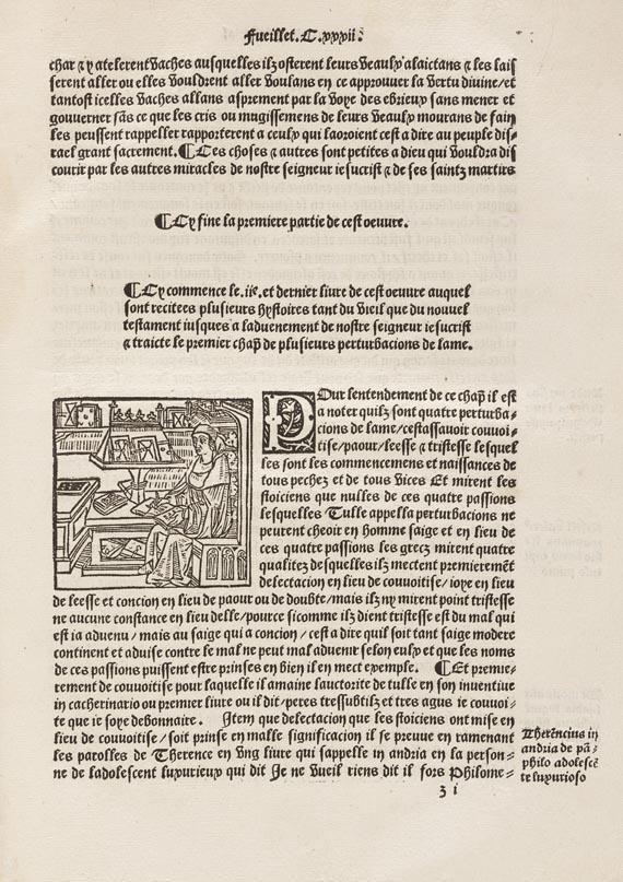 Henri Romain - Compendium hystorial. 1509