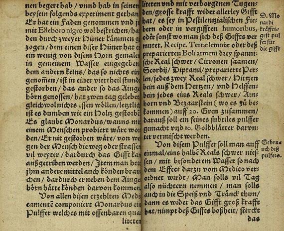 Christoff Hieblin - Tractat Von der aller fürtrefflichsten ... Arzney. 1589