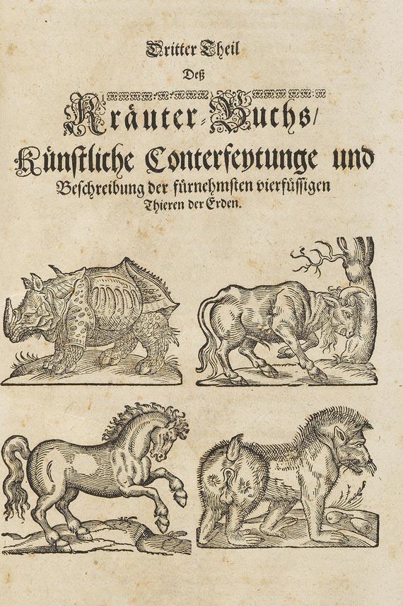 Adam Lonicer - Kräuterbuch. 1678