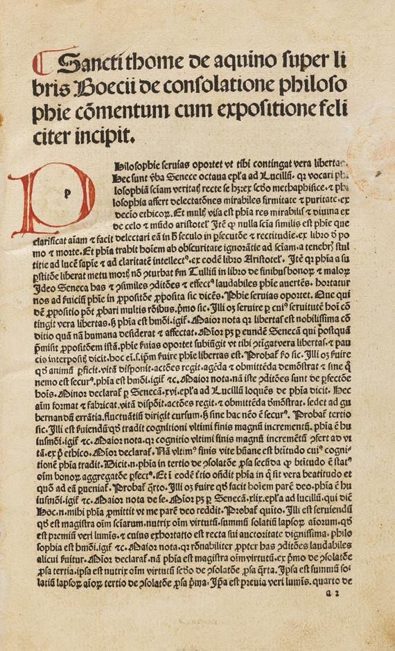 Anicius Manlius S. Boethius - De consolatione philosophiae.
