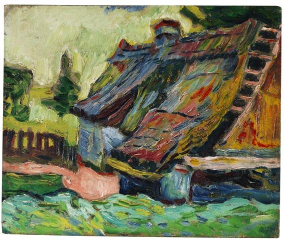 Pechstein - Zerfallenes Haus