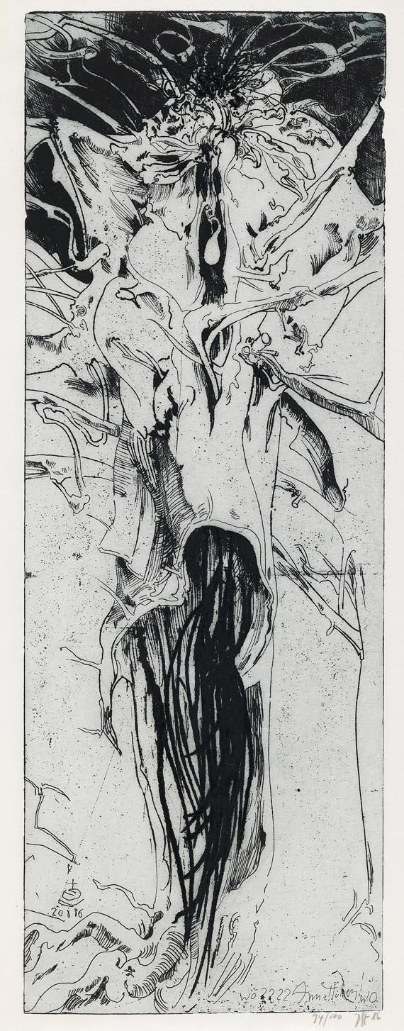 """Horst Janssen - Laokoon - """"Die Bäume der Annette"""" - Weitere Abbildung"""