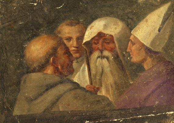 Raffaello Sanzio genannt Raffael - Nach - Papst und Heilige im Gespräch