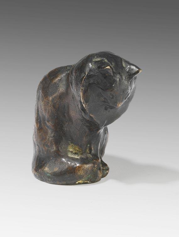 Théophile Alexandre Steinlen - Sitzende Katze (Chat assis)