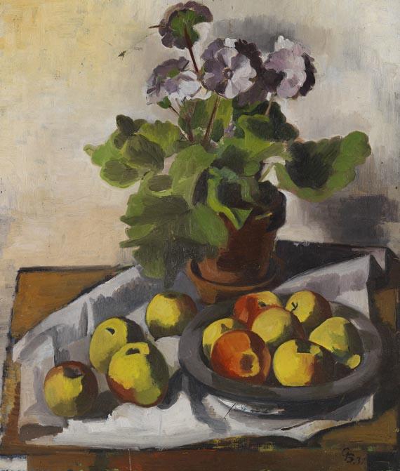 Georg Breitwieser - Stillleben mit Äpfeln