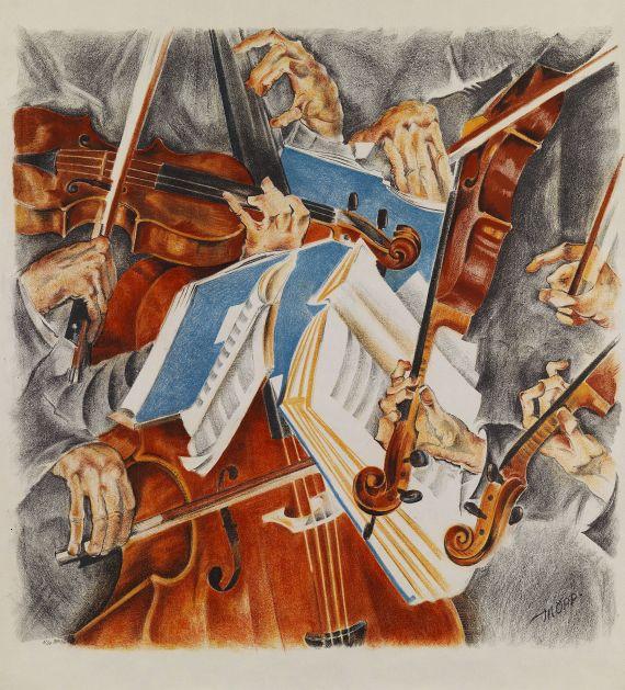 Max Oppenheimer - Rosé-Quartett