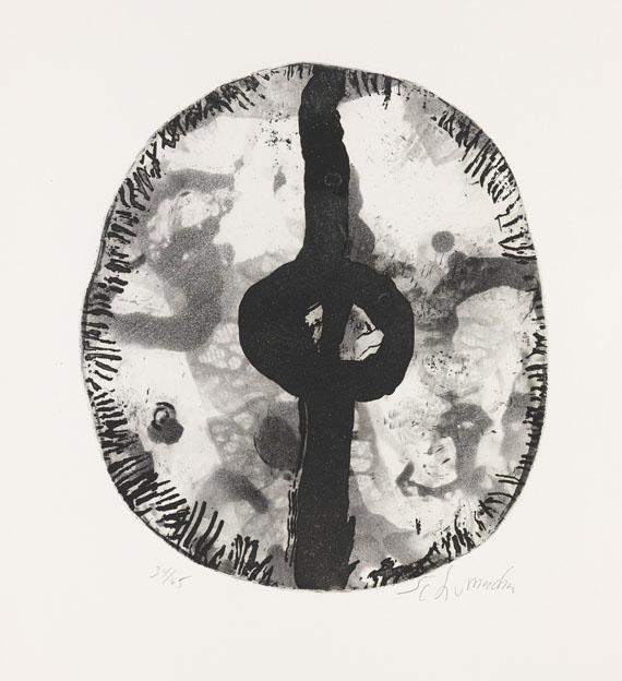 Emil Schumacher - Motiv 6/1967