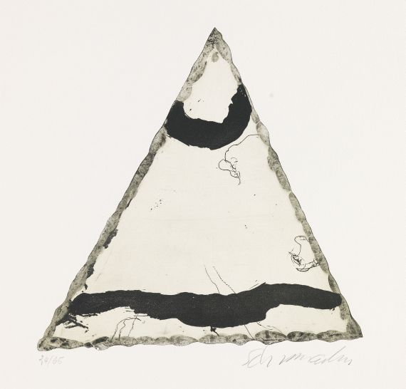 Emil Schumacher - Motiv 9/1967