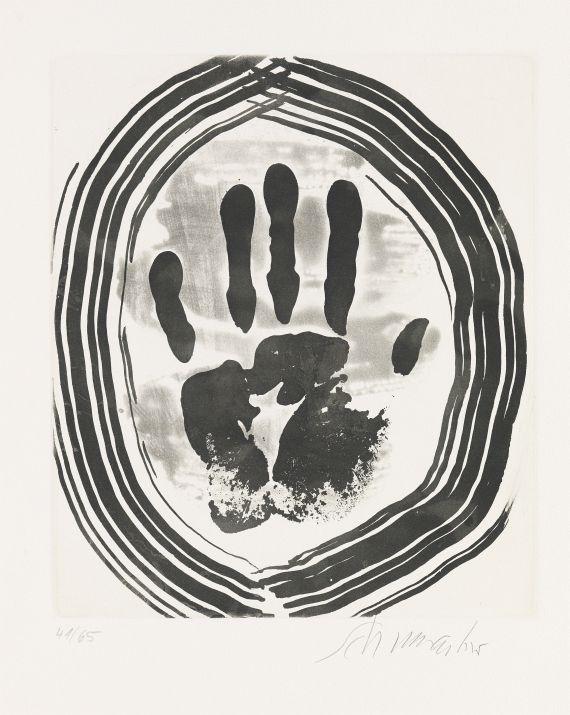 Emil Schumacher - Motiv 8/1967