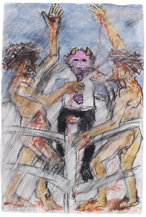 Alfred Hrdlicka - Break (aus dem Zyklus Glaubenskriege)
