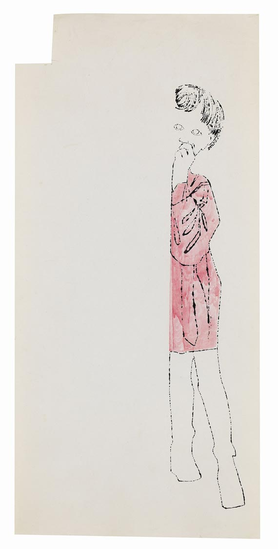 Warhol - Girl Standing
