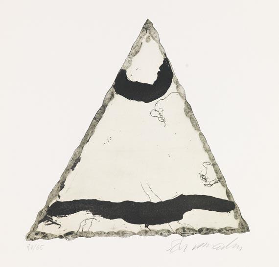 Emil Schumacher - Motiv 9/1967 - Signatur
