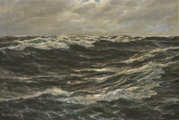 Patrick von Kalckreuth - Meereswogen