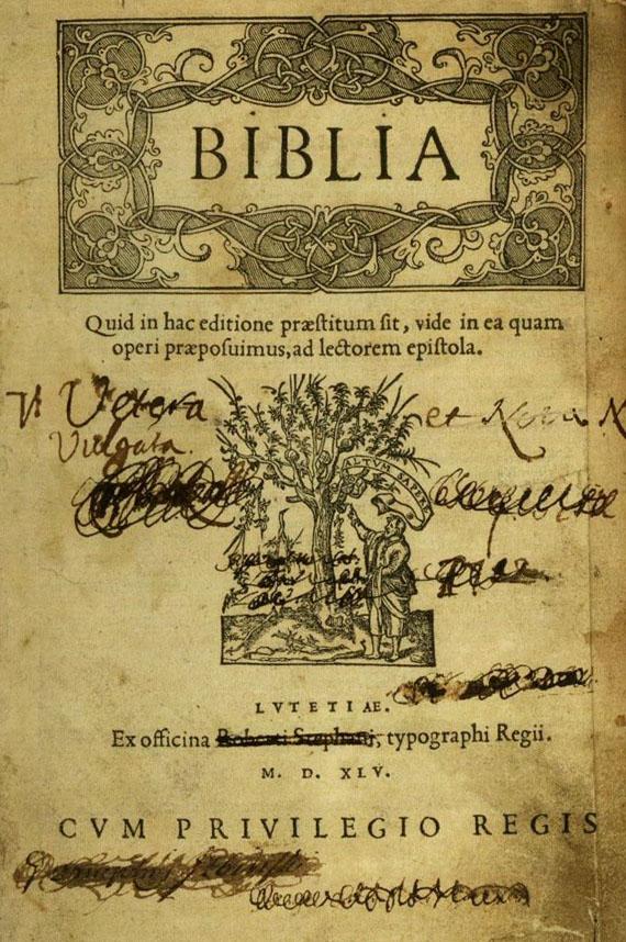 Biblia latina 1545 - Biblia (1555).