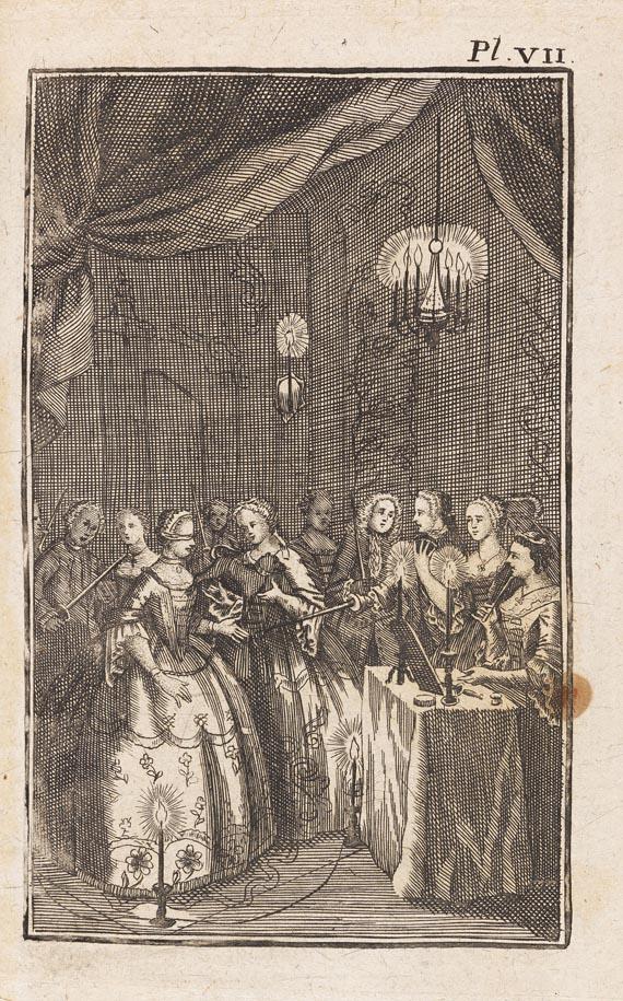 Freimaurer - Pérau, Gabriel Louis Calabre, Der verrathene Orden. 1745
