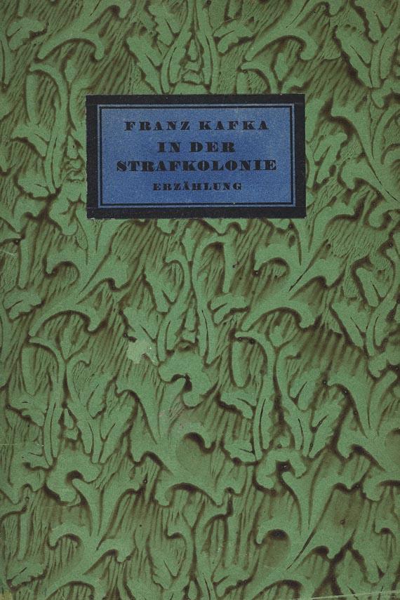Franz Kafka - In der Strafkolonie. 1919