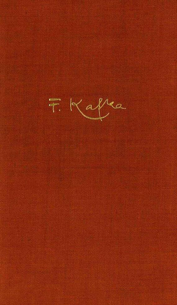 Franz Kafka - Gesammelte Schriften. 1935-37. 6 Bde.