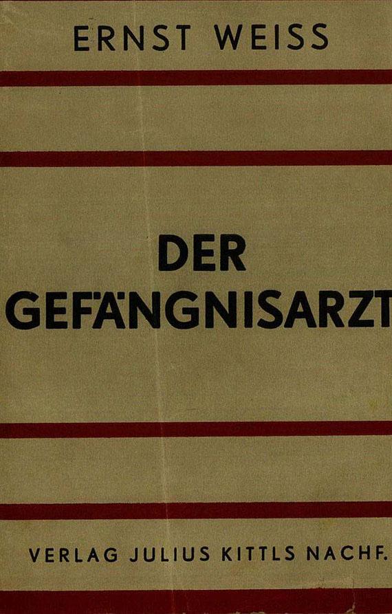Ernst Weiss - 20 Werke. 1918-63.