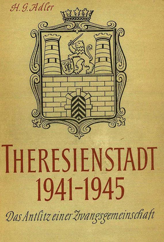 Hans Günther Adler - 15 Werke. 1955-89.