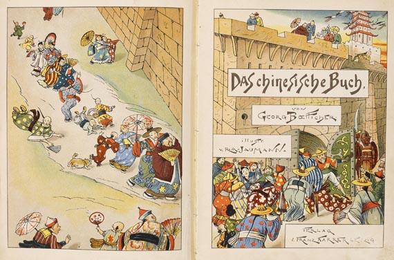 Georg Boetticher - Das chinesische Buch. 1889
