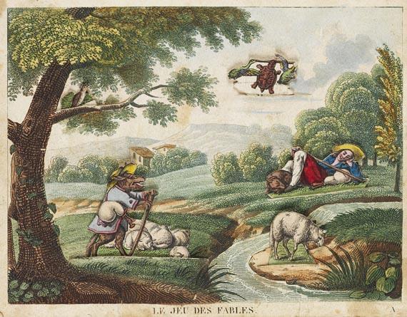Jean de La Fontaine - Le jeu des fables. 1818 (2)