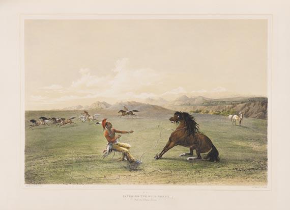 George Catlin - North American Indian Portfolio. 1844. - Weitere Abbildung
