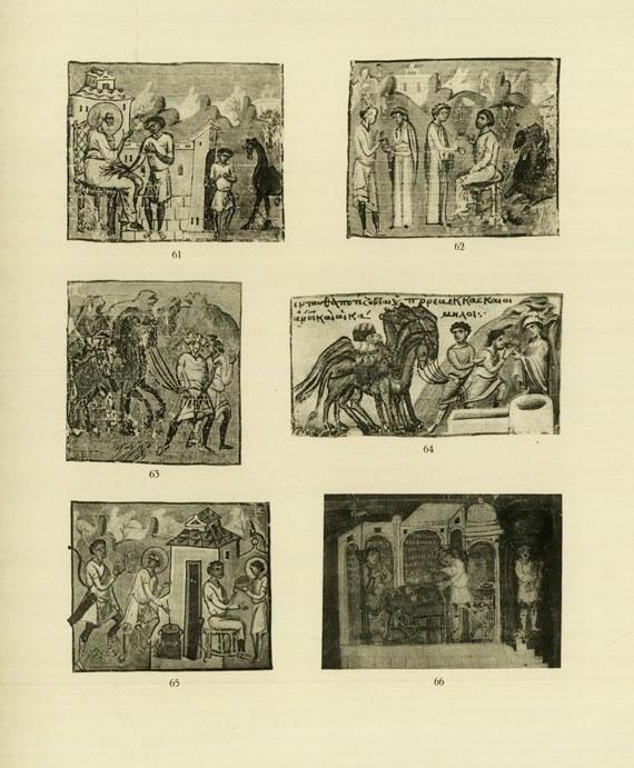 Buchwesen und Faksimile - Konvolut Kataloge und Kleinschriften. ca. 25 Werke in ca. 52 Tln.