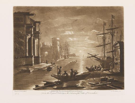 Claude Lorrain - Liber veritatis. 1777-1819. 3 Bde.
