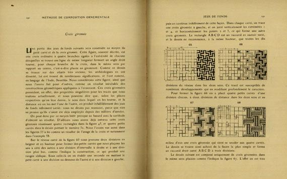 Eugène Samuel Grasset - Méthode de Composition Ornementale, 2 Bde. 1905.