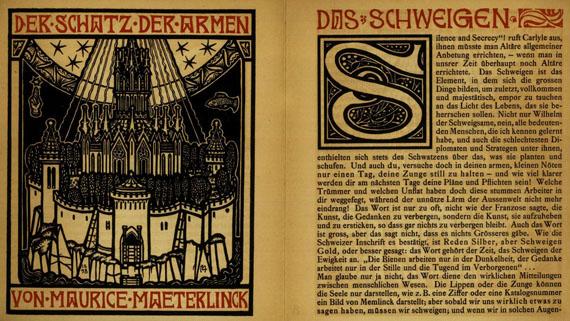 Melchior Lechter - 3 Werke, 1892-1934.