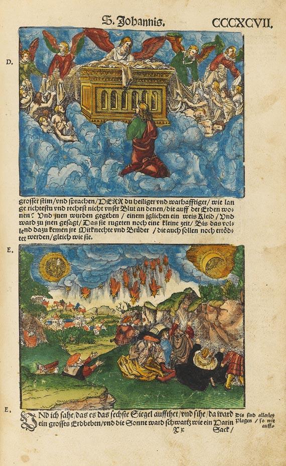 Biblia germanica - Die Propheten. 1543.