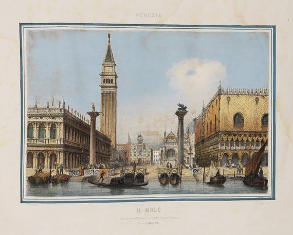 G. B. Cechini - Vedute dei principali monumenti di Venezia.