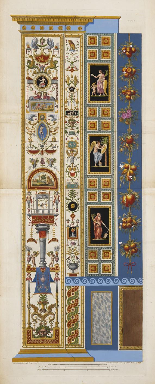 Raffaello Sanzio genannt Raffael - Loggie di Rafale nel Vaticano. 1772-77.
