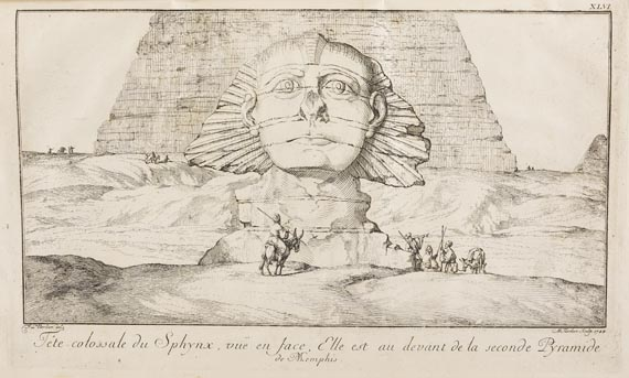 Frederik Louis Norden - Travels in Egypt and Nubia. 2 Bde. 1757.