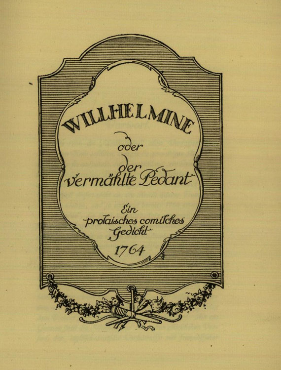M. E. Philipp - Thümmel, Willhelmine. 1920.