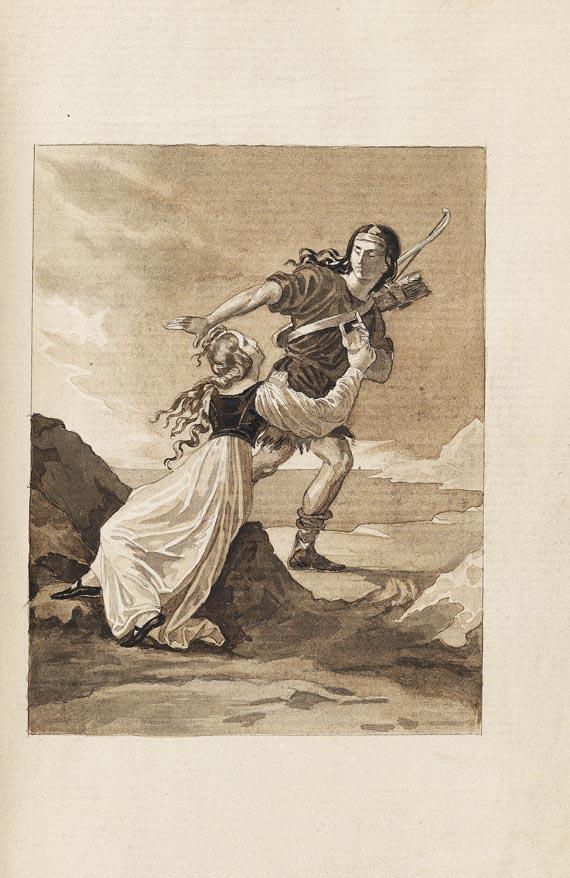 Miguel de Cervantes Saavedra - Persilès et Sigismonde. 2 Bde. 1822
