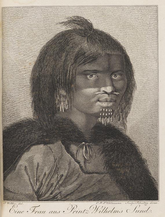 James Cook - Dritte Entdeckungs-Reise. 2 Bde. 1787-88.