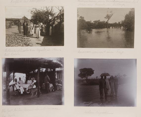 Reisefotografie - Fotoalbum Tansania. 1907.