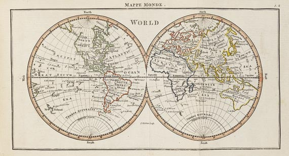 Andrew Dury - General, and universal Atlas. 1763.