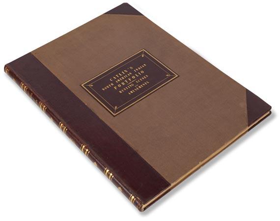 George Catlin - North American Indian Portfolio. 1844. - Einband