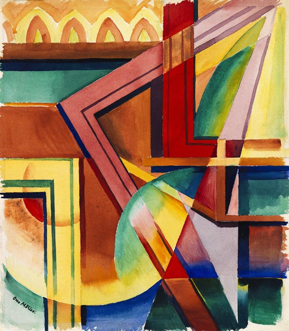 Otto Möller - Komposition III 1921 7/6