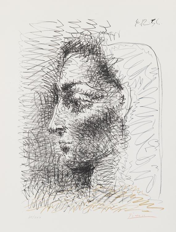 b81ad71f4c6 Pablo Picasso - Portrait de Jacqueline