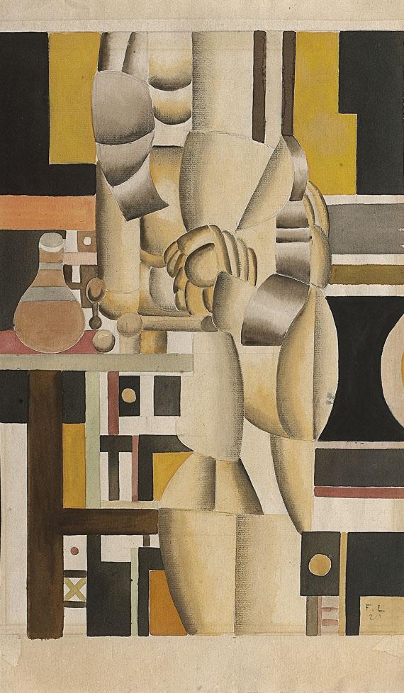 Fernand Léger - Deux femmes à la toilette