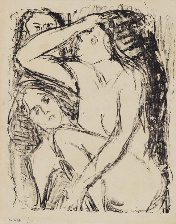 Ernst Ludwig Kirchner - Der Traum der Lesbierin