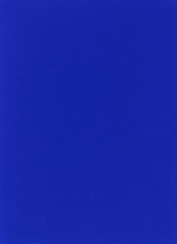 Yves Klein - Monochrome und Feuer (3-teilig) - Weitere Abbildung